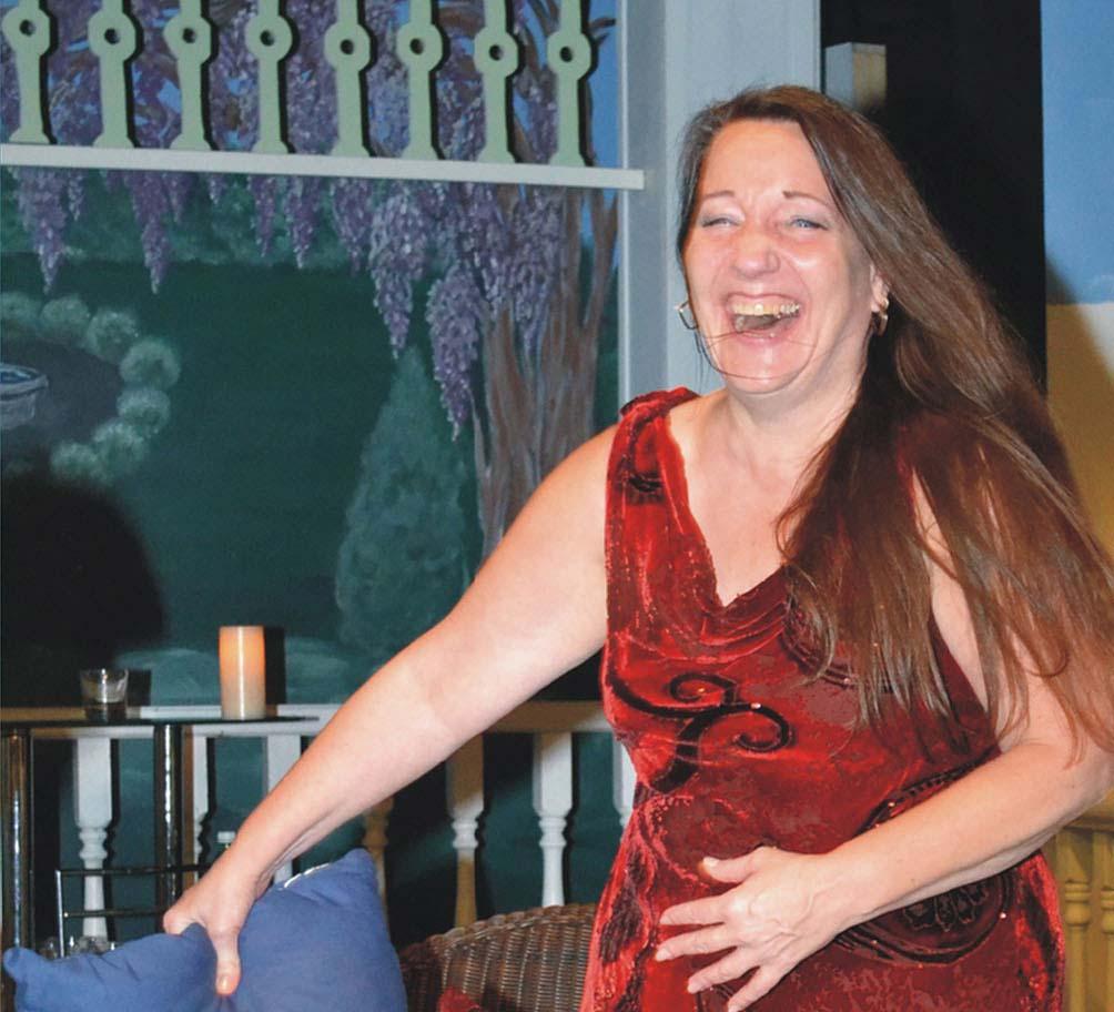 Ladysmith Little Theatre Members have more fun